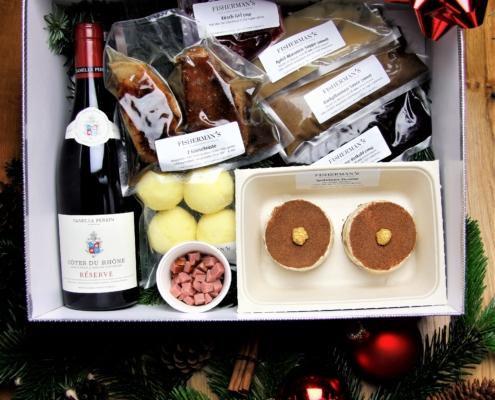 Box mit Wein